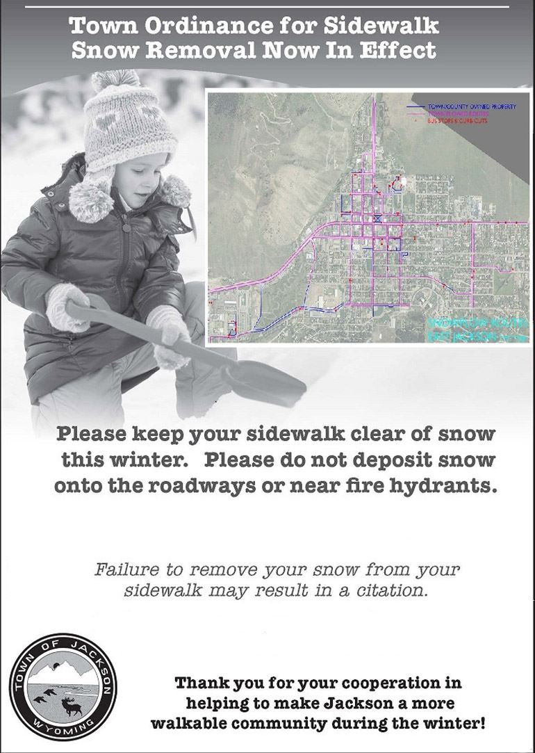 Image of Sidewalk Clearing Ad